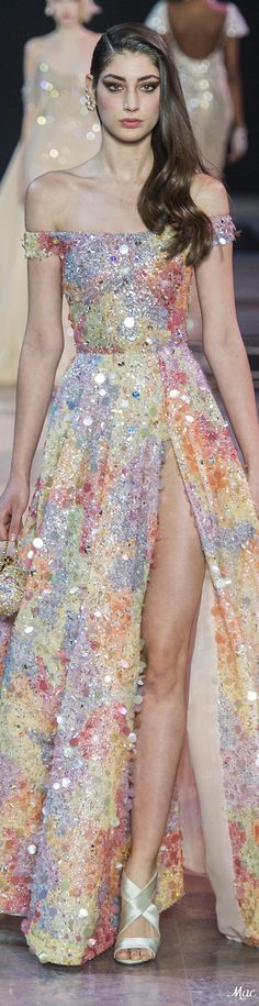 Clothes inspiration spring haute couture 29 New ideas Georges Hobeika, Beautiful Gowns, Beautiful Outfits, Sparkly Outfits, Emo Outfits, African Traditional Dresses, Blue Wedding Dresses, Designer Gowns, Couture Fashion