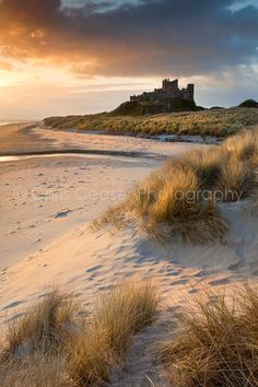 Northumberland coast line. Miles of unspoilt beach with Dunstanburgh Castle and Bamburgh. Landscape Photography, Travel Photography, Boudoir Photography, Fashion Photography, Beautiful Beaches, Beautiful Landscapes, Beautiful World, Wonders Of The World, Places To See