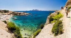 Randonnée en famille dans les calanques de Marseille - Voyages-sncf.com