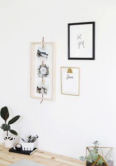 DIY Open Photo Frame