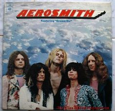 Aerosmith; my first concert. I still have this album.