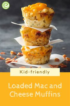 Loaded Mac and Cheese Muffins | eMeals.com