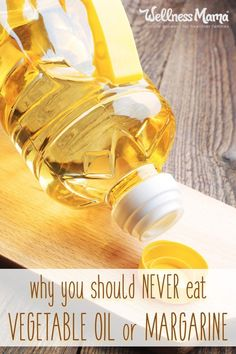 Vegetable oil and margarine are artificial fats that have a very negative effect on the body. Find out why you shouldn't consume these oils.