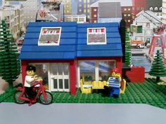 Lego 6370-1: Weekend Home (1985) - my favourite building set. This saw my first bike, patio windows, roof windows, frying pan, and house set.