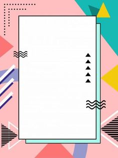 VISIT FOR MORE Polygonal cute wind memphis background style,advertising background,colorful