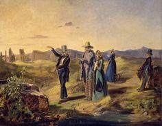 Carl Spitzweg - Engländer in der Campagna 1835