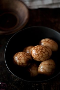 ✈ Tea eggs - Chinese food that was appropriate for a New Year feast