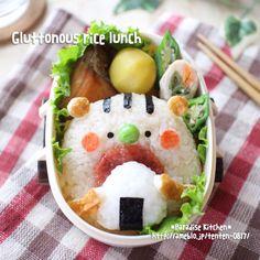 レシピ有*お口あ〜ん♡な食いしん坊リスくんの秋キャラ弁 の画像|*Paradise Kitchen*
