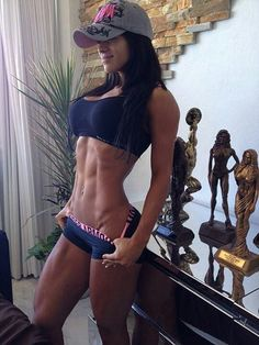 For even more fitspiration check out this female bodybuilder blog: irondedication.blogg.se
