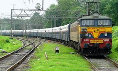 The Mumbai - Pune Deccan Queen Captured at Kalyan