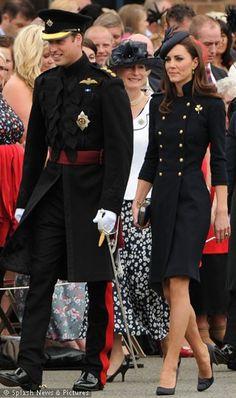 The very dashing duke and duchess of cambridge