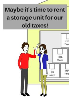 A storage unit is a great place to keep your old tax returns and other files. Not only is it secure, it's out of your way! Reserve now at West Coast Self-Storage! Budget Storage, Rv Storage, Self Storage, Storage Facility, Being A Landlord, West Coast, The Unit, Marketing, Humor