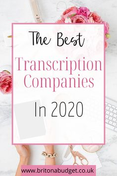 Are you looking for transcription and typing freelance work so you have the ability to work from home? If that sounds like you, I have put together a list of transcription agencies, the skills you need to make money from transcribing, and how much you could get paid from it. Ways To Save Money, How To Make Money, English Language Test, Research Skills, Spelling And Grammar, Transcription, Budgeting Tips, Pinterest Blog, Credit Cards