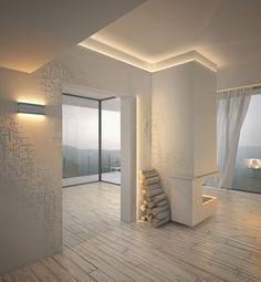 Интересный дизайн стен