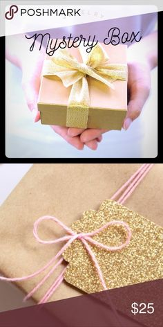 Jewelry Mystery Box contains 3 Fab Jewelry Items This Jewelry Mystery Box contains 3 Fab Jewelry Items that are either boutique NWT. At least one is guaranteed to be sparkly. NWT NuBella Jewelry