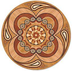 Decorative Floor Medallions and Artistic Parquet!