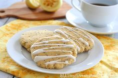 Lemon Poppyseed Breakfast Cookies | 31 Low-Carb Breakfasts That Will Actually Fill You Up