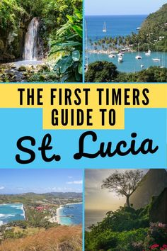 The First-Timers Guide to Travel in St. Lucia - My Canadian Passport