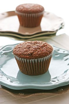 Carrot Bran Muffins via @Alison Lewis