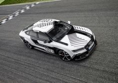 Audi RS 7 Piloted Driving Concept.