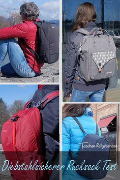 Diebstahlsicherer Rucksack Test: So haben Taschendiebe keine Chance! Wir haben vier verschiedene Anti-Diebstahl-Rucksäcke für Damen und Herren ausführlich in der Praxis getestet ... Laptop Rucksack, Sling Backpack, Bobby, Backpacks, Bags, Fashion, Hidden Compartments, Secret Compartment, Fanny Pack