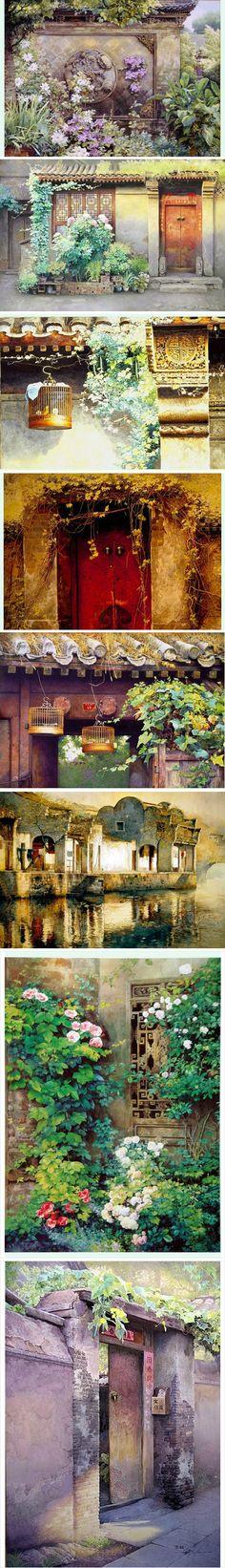 黄有维,号洞庭渔夫,湖南省岳阳人,作品格调清新、充满阳光和朝气。跻身中国水彩画一流水准之列。他的作品艺术风格鲜明,有高难度的艺术技巧。