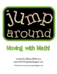 Math Games- Jump Around: Moving with Math $3.50 and 97 pages