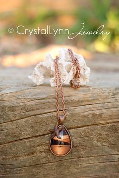 Polynesian Sunset Copper Pendant Photo & Jewelry by Crystal Lynn Photography