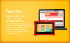 Academically and Instruction-ally Sound Learning. The Nabi 2 tablet for children Pre K - 5th Grade.