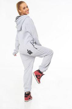 Classic Melange back jumpsuit