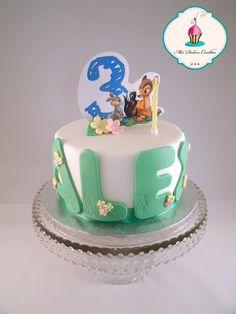 tarta de cumpleaños Bambi