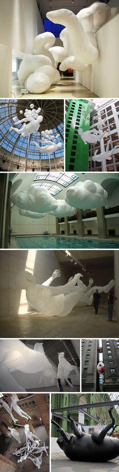Inflatable sculptures - Max Streicher