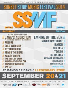 Sunset Strip Music Festival 2014