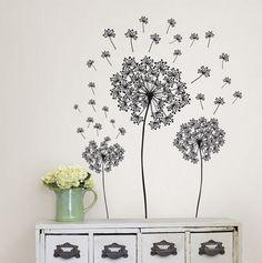 Dandelions Wall Art Kit - WallPOPS Room Decor