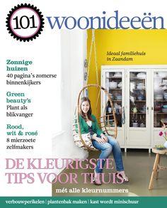 Cover Dutch creative interior magazine 101Woonideeen 07-2011