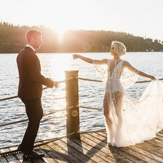 See Julianne Hough's Naked Wedding Reception Dress | WhoWhatWear