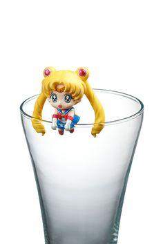 Sailor Moon Pretty Soldier Ochatomo Series Sammelfiguren 5 Cm Moon Prism  Cafe Sortiment (8)