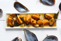 Marinaded Mussels