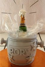 Clare's Cakes in Delicious Champagne Cake, Restaurants, Jar, Cakes, Wedding, Home Decor, Valentines Day Weddings, Decoration Home, Room Decor