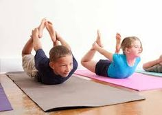 kids #yoga bow pose
