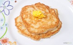 Use Leftover Porridge making pancakes