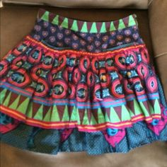 Skirt. Short midi style 100% silk. Like new condition. 2 layers. Price fixed Marc by Marc Jacobs Skirts Midi