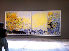 Ensemble de 4 panneaux. / Expressionnisme abstrait. / By Joan Mitchell.