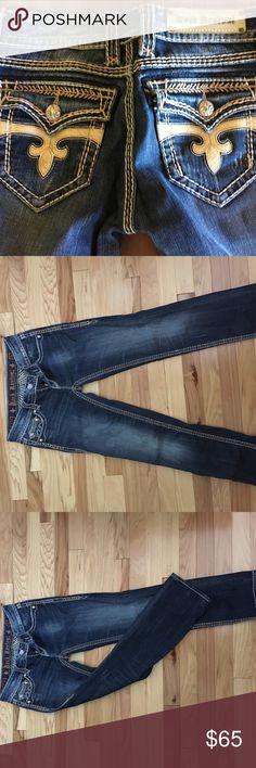 🎀SALE!🎀. Rock Revival Dara Capri rocks// price is FIRM unless bundled Rock Revival Jeans Ankle & Cropped