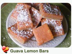 Guava Lemon Bars - ILoveHawaiianFoodRecipes