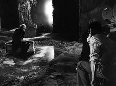 Andrei Tarkovsky while filming Stalker (1979)