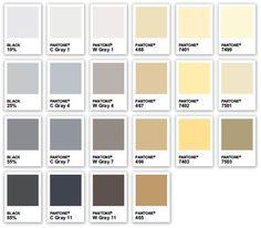 cold grey pantone - Google 搜尋