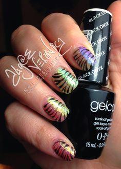 Algae Veronica's Nail Art Obsession : Photo