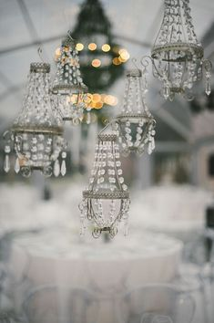 winter wedding white and grey 035 Pedro & Anas Wintery Wedding Diy Dollhouse, Dollhouse Miniatures, Winter Wedding Colors, Affordable Wedding Invitations, Hanging Crystals, Winter Wonderland Wedding, Chandelier Lighting, Crystal Chandeliers, Chandelier Wedding