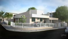3D Casas geminadas